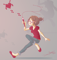 pixelkiss space invaders by yume