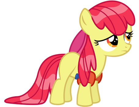 Wet Mane Apple Bloom by Midnight--Blitz