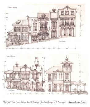 Storefronts and Shops for The Clove Town Center by Built4ever