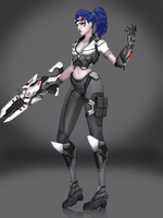 Widowmaker (Talon) by Sticklove