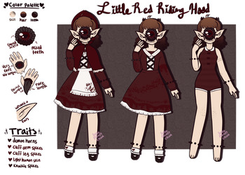 October Xynthii - Little Red Riding Hood [CLOSED] by hello-planet-chan