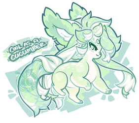 [Free Raffle] Cool as a Cucumber - OVER Winner! by manaberry