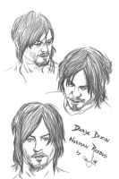 Dixon/Reedus by murrl