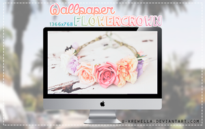 wallpaper ''flower crown'' | u-krewella by u-krewella