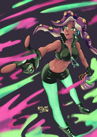Marina Splatoon 2 (Redraw) by angelmoon19