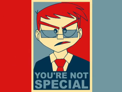 You're Not Special Poster by thatguy621