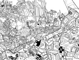 IDW Transformers Cover Round 3 by timshinn73
