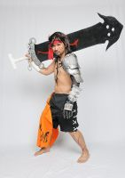 Jecht Final Fantasy X Cosplay - Ready or Not! by ManticoreEX
