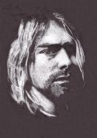 Kurt Cobain Stipple by opethcult