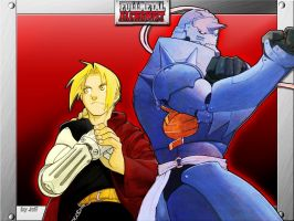 Full Metal Alchemist by Kuchiki-Jeff