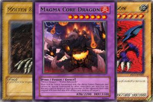Magma Core Dragon by arceist