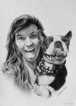 Charlie and Ziggy by Odette1994