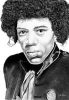 Hendrix by B-Richards