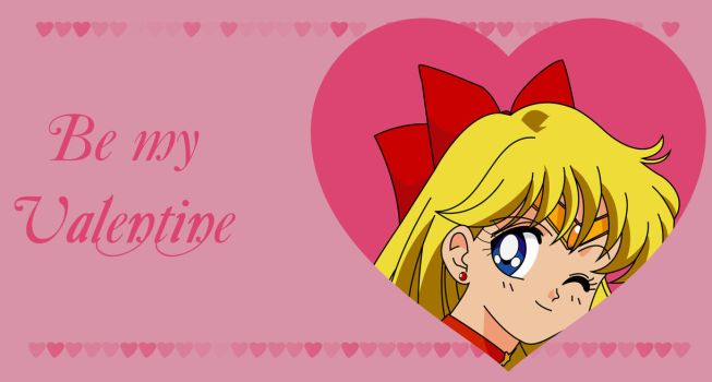Be my Valentine - Sailor Venus by Mikey186
