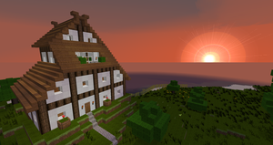 half-timber house 0.3 by mikadoboy82