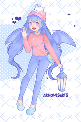 Pastel Girl Challenge by AruOwlsArts