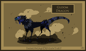 Gloom Dragon [CLOSED] by Immonia