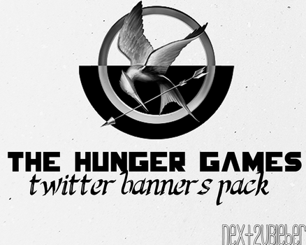 Pack Twitter Banners: The Hunger Games by Cursorsandmore