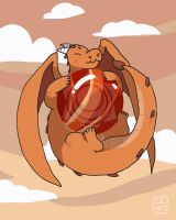 Red Jasper Dragon by ccartstuff