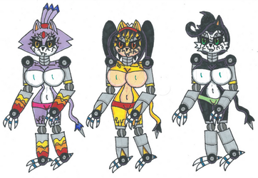 Request Cyber Cat Demons by Power1x