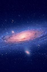 Andromeda For iPhone 4 by jlsgraphics