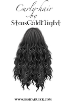 Curly Hair PNG by StarsColdNight