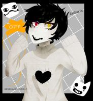 Unmasked Zacharie by B-3-A-R-0-X