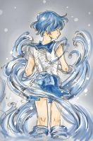 Sailor Mercury by ojwo