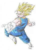 Vegetto Jump coloured by Vegetto90
