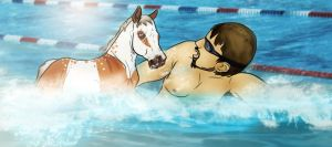 Swimfans by s1088