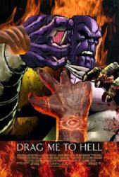 Drag Thanos to Hell by menslady125