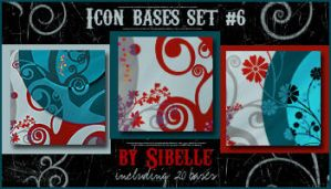 Icon bases Set No. 6 by Sibelle
