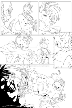 RubyLion - Book 1 - Page 5 (Preview) by Tokalub
