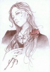 Red Rose by ithor