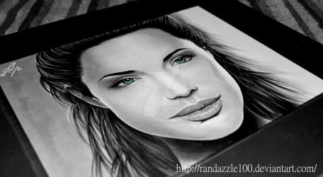 Angelina Jolie- Prisma Marker Rendering by Randazzle100