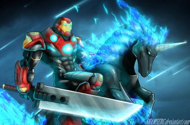 Total Ultimate Iron Man by shamserg