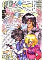 1996 :: GunSmith Cats by PinkAppleJam