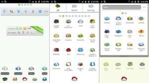 Cracked Android Go Launcher Theme by Jekmyster