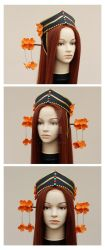 Princess Kakyuu headdress by lady-narven