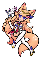 Star Guardian Ahri by oFruitTango