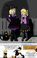 Happy Halloween 2014 by SailorEnergy
