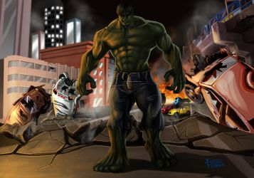 Rampage by holyghost13th