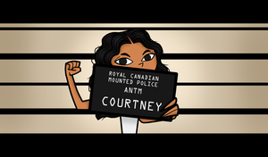 Courtney - Photoshoot 6 - Redone by comicstrip2000