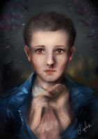 Eleven (Portrait Study) by SnipSnipArt