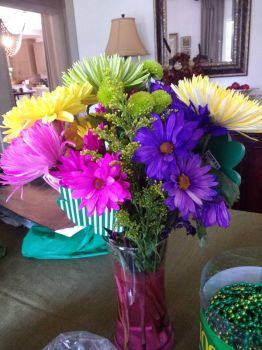 Beautiful St. Patrick's Day flowers by Blaria95