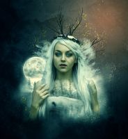 Lady of Yule by AusWolf666