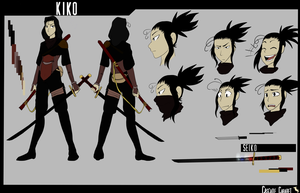 Ccoct Kiko Refrence Sheet by Skelwolf