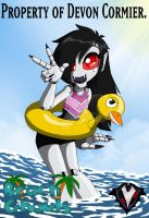 Beach Ghouls - Tuber Twilight by PlayboyVampire