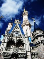 Disney Castle by c12angeleyes