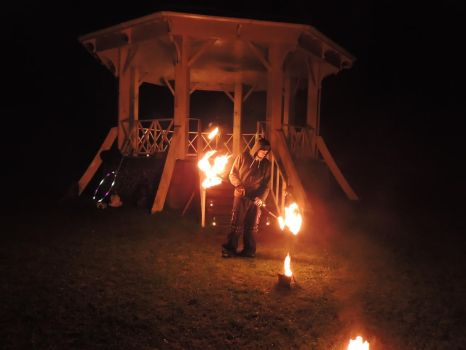 Imbolc Fire Dancing 11 by RobBarker